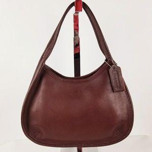 COACH Vintage Burgundy Leather Ergo Mini Satchel